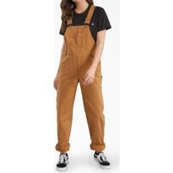 Dickies Women's Bib Overalls - Brown Duck Size L (FB206) found on Bargain Bro India from Dickies.com for $49.99