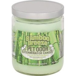 Pet Odor Exterminator Bamboo Breeze Deodorizing Candle Jar, 13-oz jar found on Bargain Bro India from Chewy.com for $9.12