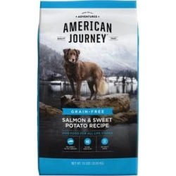 American Journey Salmon & Sweet Potato Recipe Grain-Free Dry Dog Food, 24-lb bag found on Bargain Bro India from Chewy.com for $42.99