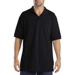 Dickies Adult Sized Short Sleeve Pique Polo Shirt - Black Size 4Xl (KS5552) found on Bargain Bro Philippines from Dickies.com for $12.99