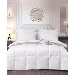 Elle DECOR All Season White Down Fiber Comforter, King - White found on Bargain Bro India from macys.com for $262.99