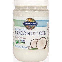 Garden Of Life Raw Extra Virgin Coconut Oil-14 fl oz. Oil found on Bargain Bro India from Puritan's Pride for $7.99
