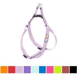 Pawtitas Nylon Reflective Step In Back Clip Dog Harness, Purple Orchid, Medium: 20 to 28-in chest found on Bargain Bro India from Chewy.com for $16.99