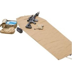 Armageddon Gear Ultralight Shooting Mat - Ultralight Shooting Mat, Coyote Brown found on Bargain Bro Philippines from brownells.com for $59.99