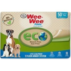 Wee-Wee Eco Friendly Dog Training Pads, 22 x 23 in, 50 count found on Bargain Bro India from Chewy.com for $18.89