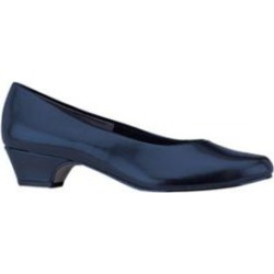 Women's Angel II by Soft Style, a Hush Puppies Company, Blue, Size 9.5 Wide Width found on Bargain Bro Philippines from Blair.com for $46.99