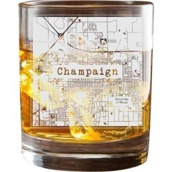 Champaign College Town Glasses (Set of 2) found on Bargain Bro from Overstock for USD $33.81