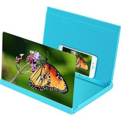 I Tech Screen Protectors Blue - 14'' Blue Hardcover Folding Screen Magnifier found on Bargain Bro India from zulily.com for $19.99