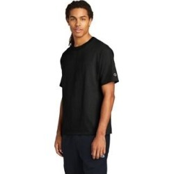 Champion Men's Cotton Jersey Tee (Black - S) found on Bargain Bro Philippines from Overstock for $21.29