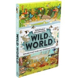 Simon & Schuster Interactive Play Books - Expandable Explorations: Wild World Hardcover found on Bargain Bro from zulily.com for USD $8.66