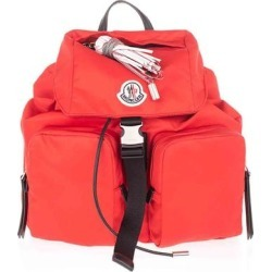 Backpack With Logo Patch - Red - Moncler Backpacks found on Bargain Bro from lyst.com for USD $478.80