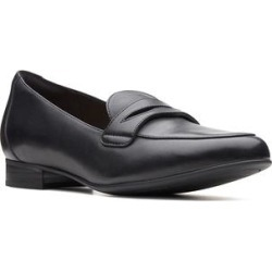 Clarks Women's Loafers Black - Black Un Blush Go Leather Loafer - Women found on Bargain Bro from zulily.com for USD $26.50