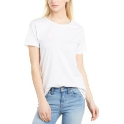 French Connection Classic T-Shirt (4), Women's, White(cotton) found on MODAPINS from Overstock for USD $16.79