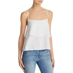DL1961 Womens Camisole Top Tencel Blend Tiered - White found on Bargain Bro India from Overstock for $20.89