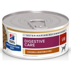 Hill's Prescription Diet i/d Gastrointestinal Chicken & Vegetable Canned Dog Food, 5.5-oz, 24 ct found on Bargain Bro India from Chewy.com for $46.99