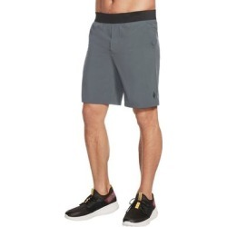 petite Skechers Movement 9 Inch Ii Mens Shorts Adjustable Closure - Grey (S), Men's, Gray found on Bargain Bro Philippines from Overstock for $34.95