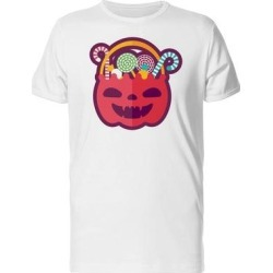 Halloween Candy Bowl Tee Men's -Image by Shutterstock (S), White found on Bargain Bro from Overstock for USD $10.63