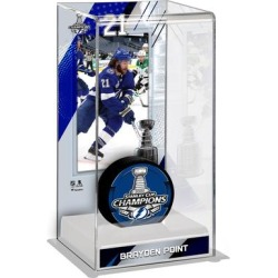 Brayden Point Tampa Bay Lightning Fanatics Authentic 2020 Stanley Cup Champions Logo Deluxe Tall Hockey Puck Case found on Bargain Bro Philippines from Fanatics for $49.99