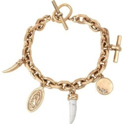 Charm Bracelet - Metallic - AllSaints Bracelets found on Bargain Bro from lyst.com for USD $67.64