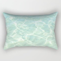 Rectangular Pillow | All Clear by Artbyjwp - Small (17
