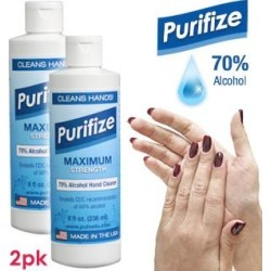 Purifize Maximum Strength Hand Cleaner Gel 2-Pk found on Bargain Bro from PulseTV for USD $4.55