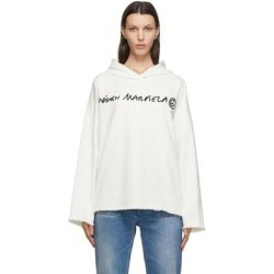 Off-white Bull Cotton Logo Hoodie - White - MM6 by Maison Martin Margiela Sweats found on Bargain Bro from lyst.com for USD $330.60