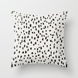 Urban Dot Couch Throw Pillow by Simple Luxe - Cover (16