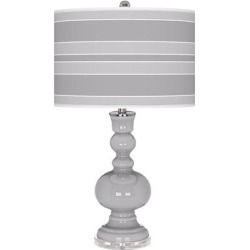 Swanky Gray Bold Stripe Apothecary Table Lamp found on Bargain Bro from LAMPS PLUS for USD $113.99