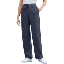Plus Size Women's Better Fleece Sweatpant by Woman Within in Navy (Size 4X) found on Bargain Bro Philippines from fullbeauty for $19.99