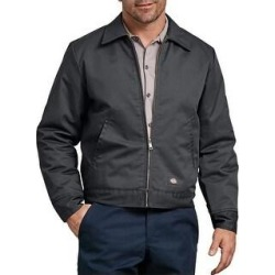 Dickies Men's TJ15 Insulated Eisenhower Zip Up Jacket (Charcoal (CH) - 4XL), Grey (CH)(cotton) found on Bargain Bro Philippines from Overstock for $47.01
