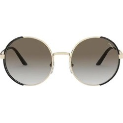 Round Frame Sunglasses - Brown - Prada Sunglasses found on Bargain Bro India from lyst.com for $264.00