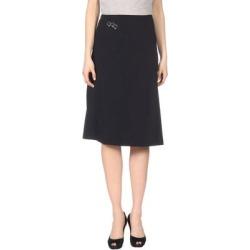 Knee Length Skirt - Black - Mugler Skirts found on MODAPINS from lyst.com for USD $276.00