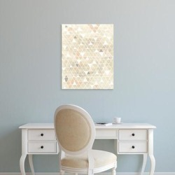 Easy Art Prints June Erica Vess's 'Pattern Intersect II' Premium Canvas Art found on Bargain Bro Philippines from Overstock for $57.24