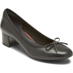 Total Motion Sydney Bow Pump - Black - Rockport Heels found on Bargain Bro India from lyst.com for $80.00