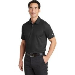 Nike Men's Solid Icon Pique Modern Fit Polo (XL - Black)(polyester) found on Bargain Bro from Overstock for USD $35.71