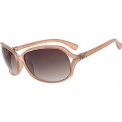Oscar de la Renta Women's Sunglasses Shiny - Shiny Crystal Blush Rectangle Sunglasses found on MODAPINS from zulily.com for USD $16.99