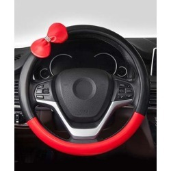 Kalumei Car Organizers Black - Black & Red Car Steering Wheel Cover found on Bargain Bro Philippines from zulily.com for $21.99