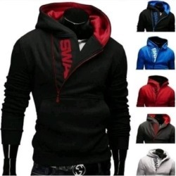 Quality S-6Xl Autumn&Winter Fashion Sport Brand Fleece Hoodies Men Casual (Red - 3XL), Men's found on Bargain Bro Philippines from Overstock for $30.61