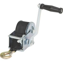 Ultra-Tow Single Speed Hand Winch with Strap - 600-Lb. Load Capacity, 23ft. Strap found on Bargain Bro from northerntool.com for USD $19.75
