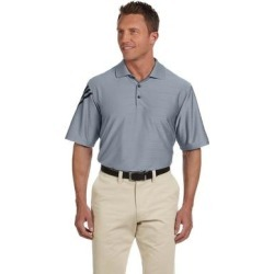 adidas Golf mens ClimaCool Mesh Polo (A133) (Forest/White - L), Men's, Green/White(knit, striped) found on Bargain Bro India from Overstock for $88.49