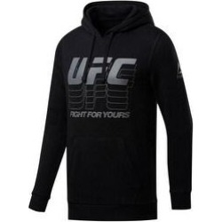 Reebok Mens Fight For Yours Hoodie Sweatshirt, Black, X-Large (Black - X-Large), Men's(cotton, graphic) found on Bargain Bro Philippines from Overstock for $44.59
