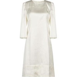 Knee-length Dress - White - Marni Dresses found on MODAPINS from lyst.com for USD $435.00