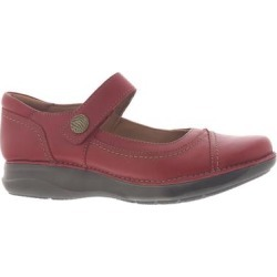 Clarks Appley Walk - Womens 6 Red Slip On W found on Bargain Bro from ShoeMall.com for USD $98.76