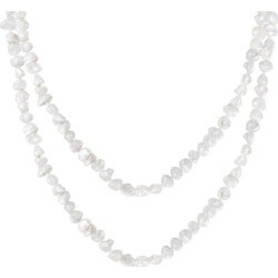 White Freshwater Pearl 2 Piece Set - White - Splendid Necklaces found on Bargain Bro from lyst.com for USD $121.60