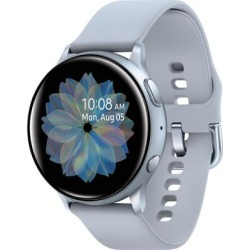 Samsung Galaxy Watch Active2 44mm Smart Watch, Cloud Silver found on Bargain Bro from Crutchfield for USD $151.99