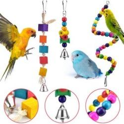 KATIER Bird Toys, Size 35.0 H x 4.9 W x 4.9 D in | Wayfair KATIER472039a