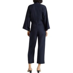 Long Sleeve Jumpsuit - Blue - Club Monaco Jumpsuits found on Bargain Bro India from lyst.com for $91.00