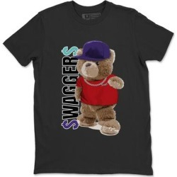 Bear Swaggers TShirt Jordan 5 Top 3 Sneaker Match Tee AJ5 Top (Black - M), Men's(cotton) found on Bargain Bro from Overstock for USD $25.07