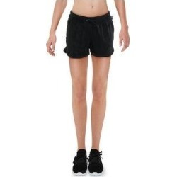 Reebok Womens Shorts Fitness Workout - Black (L), Women's(cotton, solid) found on Bargain Bro from Overstock for USD $14.13