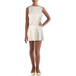 Alexis Womens Dutsa Cocktail Dress Polka Dot Sleeveless - White & Black Dot (S), Women's(polyester) found on MODAPINS from Overstock for USD $45.14